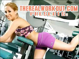 breasty Capri knows how to satisfy her fitness trainer