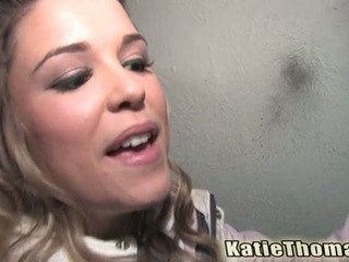 Katie thomas fucking darksome dude on a alley