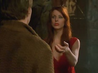 Sexy Blue-Eyed Brunette Diane Neal Looking Truly Hot As a Vampire