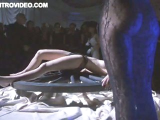 Blonde Babe Gets Some BDSM Action In Front Of an Audience - Episode Scene