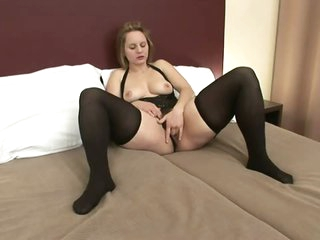 Cumaholic Blond MILF Gets a Black Monster Cock Just For Herself