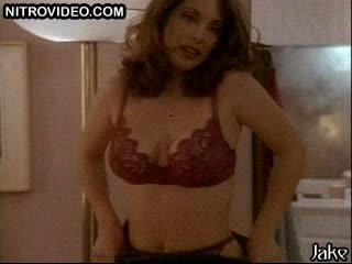 Beautiful Brunette Alex Meneses Strips To Her Bonerific Lingerie