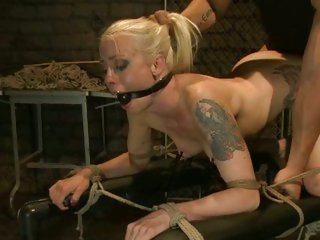 Tattooed Lorelei Lee loves getting fucked doggy style