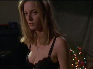 Cute Blonde Babe Sarah Polley Takes Off Her Shirt In a 'Go' Scene