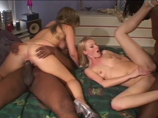 Darksome stallions smash blonde play holes