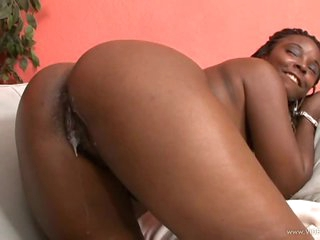 Foxy Darksome Beauty Stacy Adams Gets Her Wet Pussy Fucked and Creampied
