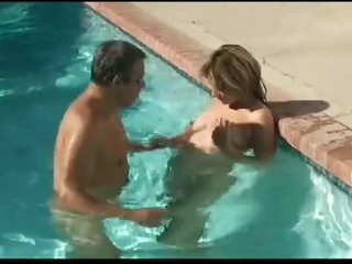 Pregnant Blowjobs in the Pool and Fucks in the Room