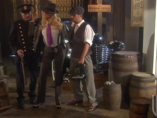 Hawt Blonde Detective Jessica Drake Getting Her Pussy Fucked In 3some