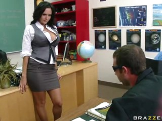 Busty Brunette Teacher Ava Addams Fucking Her Favourite Student