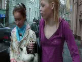 Softcore walking of my chicks in Kiev