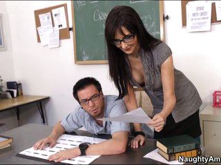 Wicked teacher Diana Prince seduces her student