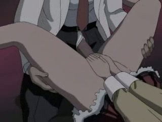 Hentai whore getting a giant cock rammed up her tiny wet aperture