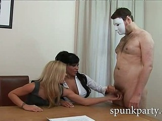 Handjob audition