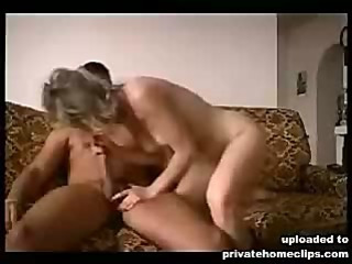 Big titted girl rubs dick against hot nippled boobs
