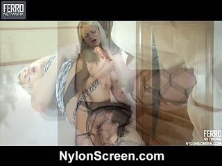 Dolly&Rolf nasty nylon video