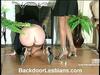 Joanna&Irene mindblowing anal lesbian action