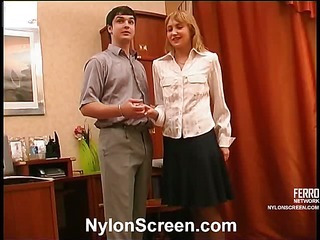 Mary&Adam great nylon video