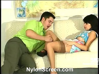 Gertie&Adam nylon sex video