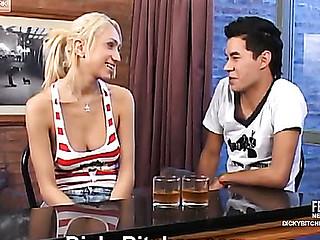 Micaela&Sebastian raunchy shemale action
