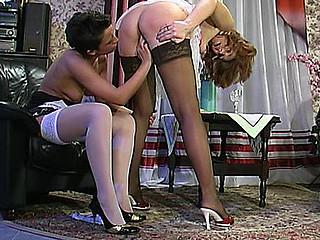 Bridget&Sheila aged lesbo movie