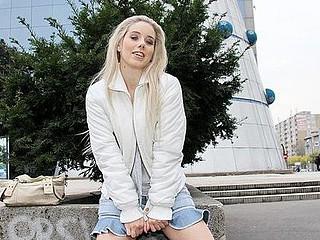 Upskirt fucking in public porn clip