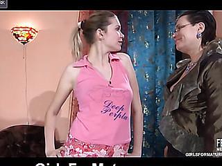 Elsa&Cecilia aged lesbo clip
