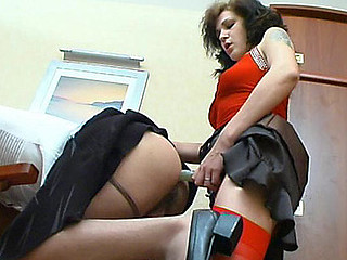 Millie&Frank ding-dong pussyclothed sex movie scene