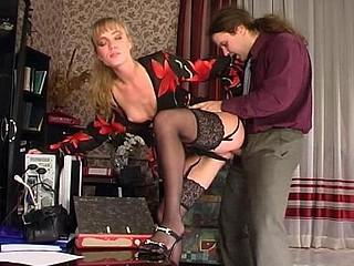 Diana&Lesley nasty nylon movie