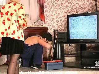 Patty&Adam ardent aged action