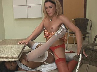 Kawana&Alexia horny shemales in action
