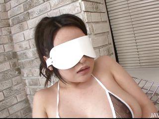 blindfolded and tied asian slut