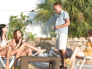mia, beata, vika and one lucky guy