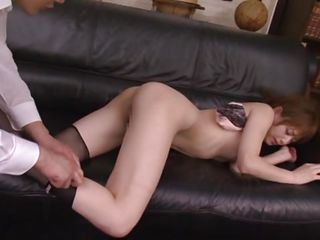 beautiful japanese milf fingered and fucked