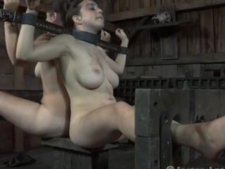 Torturing of honey's sexy assets
