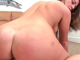 Bella Rose receiving big thick schlong in her shaved twat