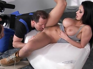 Backstage of great sex with Aletta Ocean