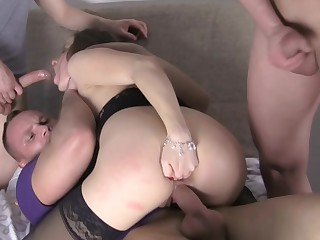 Eva Shanti in double penetration sex video with taissia shanti