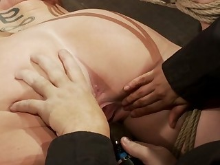 Milf With Ee Tits Has As a result Many Orgasms Ripped Out Of Hercries From The Brutal Emotion Of It All - HogTied