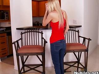Mila Evans In Great View