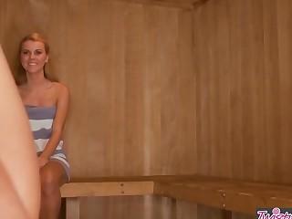 Twistys - When Girls Play - Jessie Rogers Melissa XoXo -n Love In The Sauna