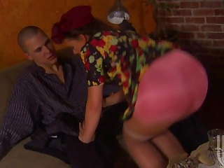 Penny Flame In Colofrul Dress Getting Her Pussy Fucked By Big Ramrod