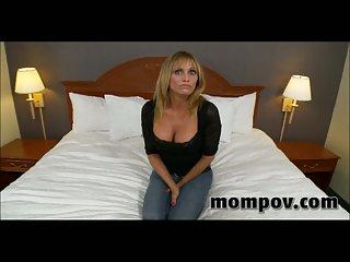 Big wobblers milf gets POV cock