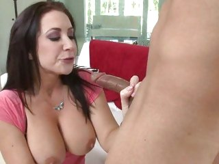 Sassy Jayden James drools on this tasty lolly cock