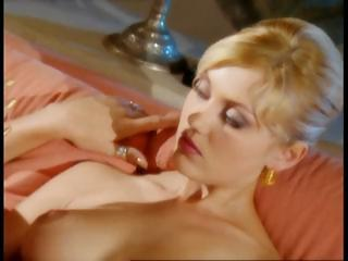 Golden-haired Sandra Steel and allies have a hot fuck party before cards