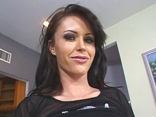 Brunette hair bitch Jenna Presley fucking & squirting